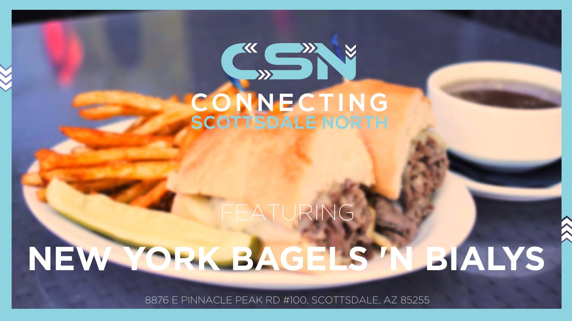 Connecting Scottsdale North | New York Bagels 'N Bialys