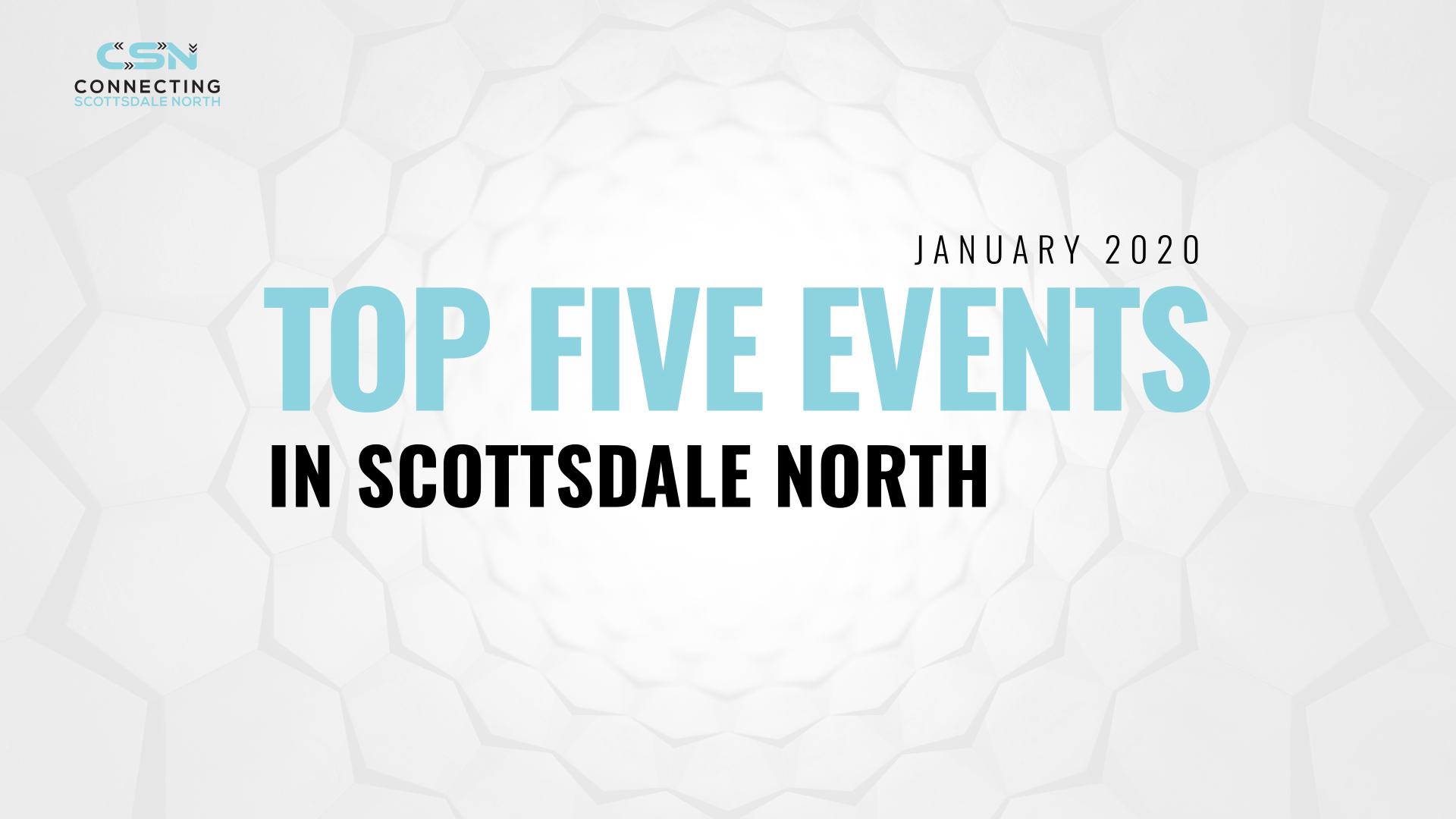 Scottsdale North Events January 2020